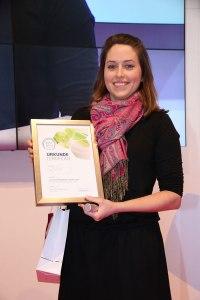 Yverum Vivanesse Auszeichnung 2016