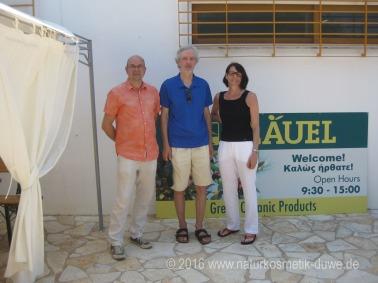 Besuch bei Mani Olivenöl Griechenland 13