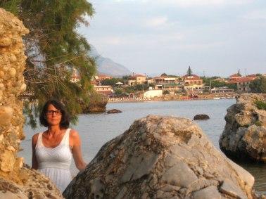 Marlies Duwe in Pyrgos