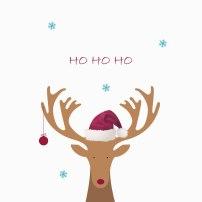 Weihnachtsgutschein Naturkosmetik Rentier (Rudolf)