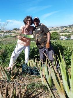 Besuch Santaverde Naturkosmetik Estepona 2019
