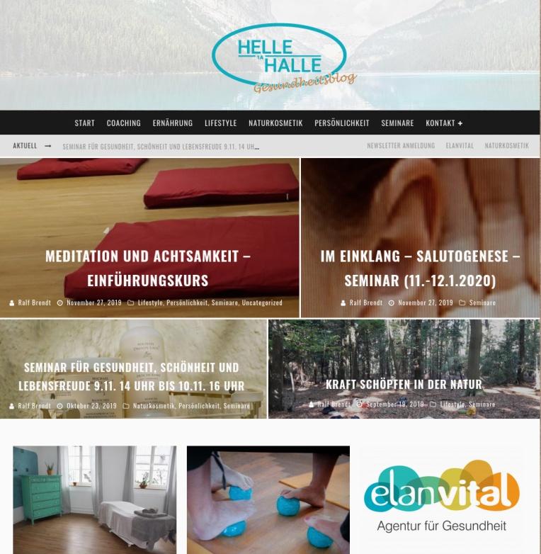 Helle Halle Gesundheitsblog
